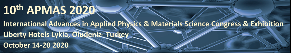10th International Advances in Applied Physics and Materials Science Congress & Exhibition